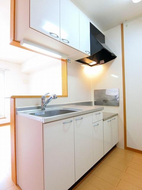 アンビエンテB 02030号室のキッチン