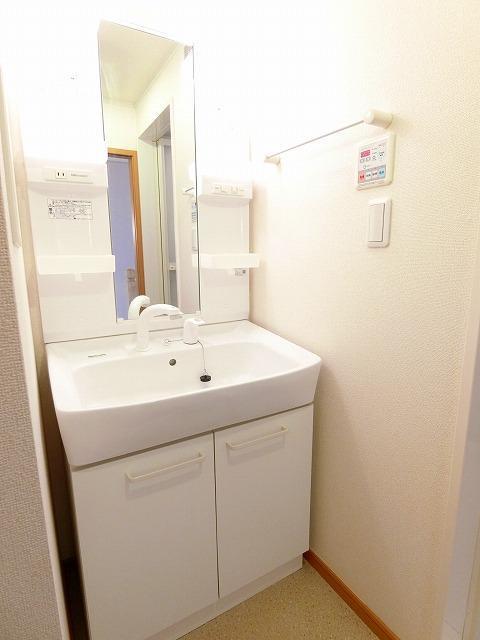 アンビエンテB 02030号室の洗面所