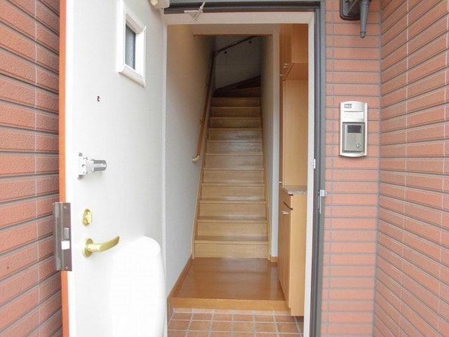メリディオⅡ 02020号室の玄関