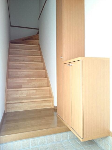 リヴァーサイド Ⅱ 02020号室の玄関