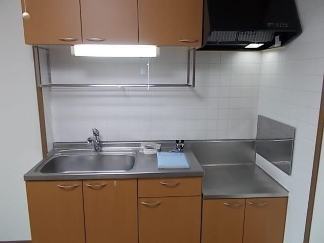 プラースⅢ 205号室のキッチン