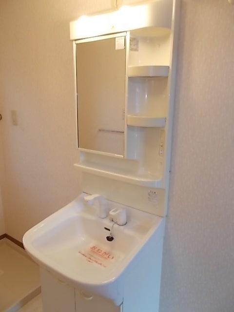 プラースⅢ 205号室の洗面所