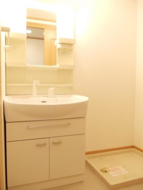シャロット 01030号室の洗面所