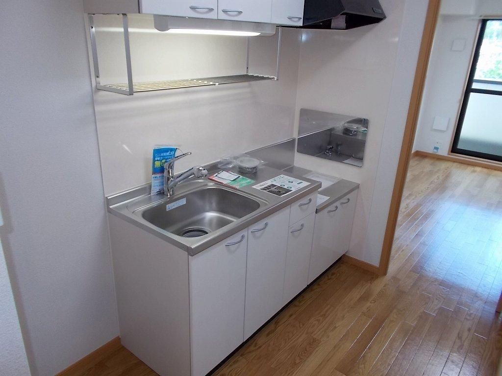 アライブ キノⅡ 203号室のキッチン