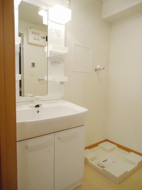 サンレミ・国森D 201号室の洗面所