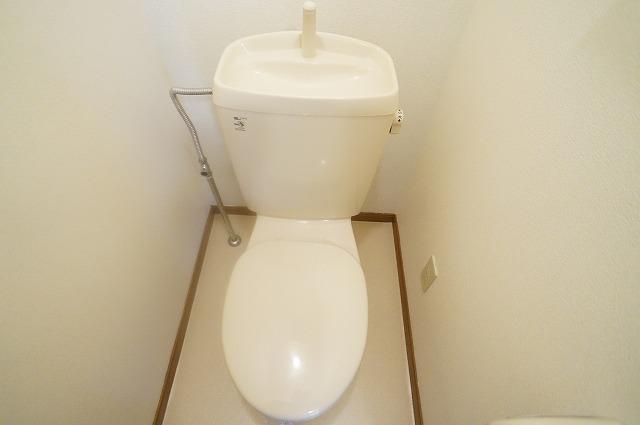リンデンハウス 01020号室のトイレ