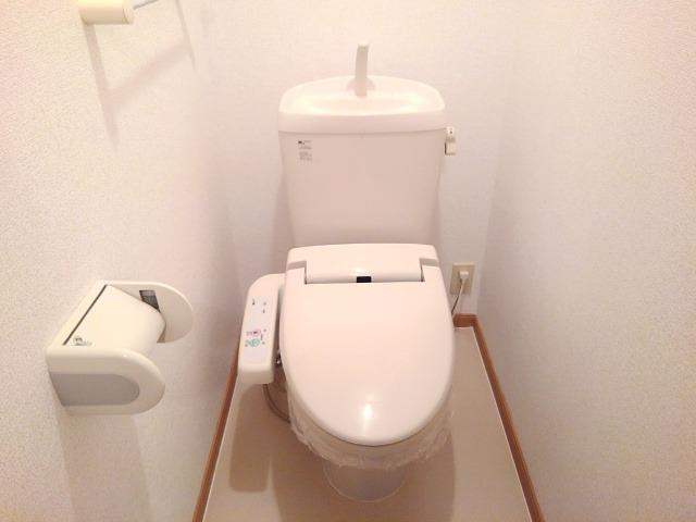 クリスタルガ-デンB 02010号室のトイレ