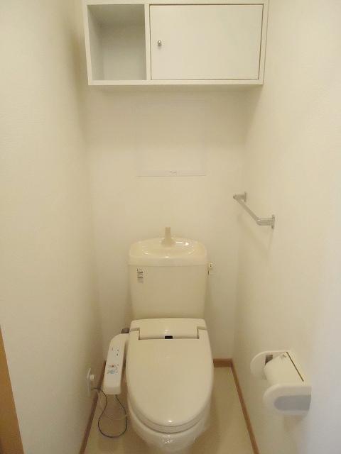 リヴウェルコート W 202号室のトイレ