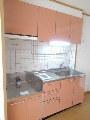 アヴニールA 02010号室のキッチン