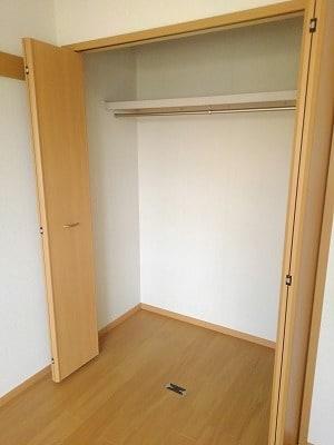 アヴニールA 02010号室の収納