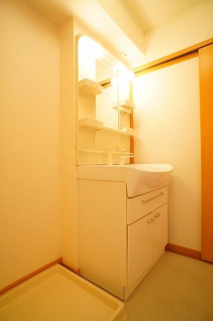 カンタ-ヴィラ A 02010号室の洗面所
