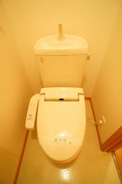 カンタ-ヴィラ A 02010号室のトイレ