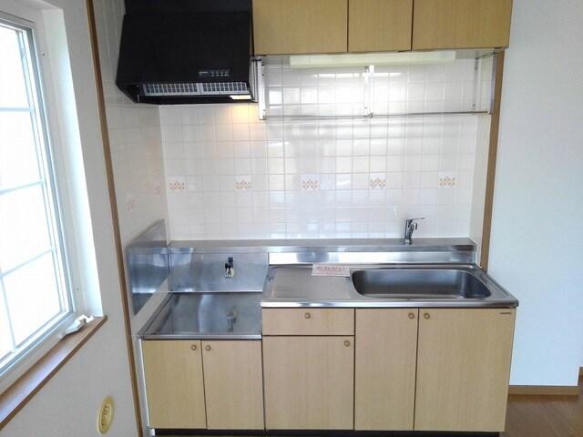 リバ-ベイスン Ⅲ 02010号室のキッチン