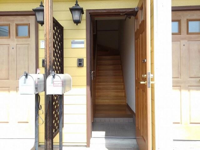 リバ-ベイスン Ⅲ 02010号室の玄関