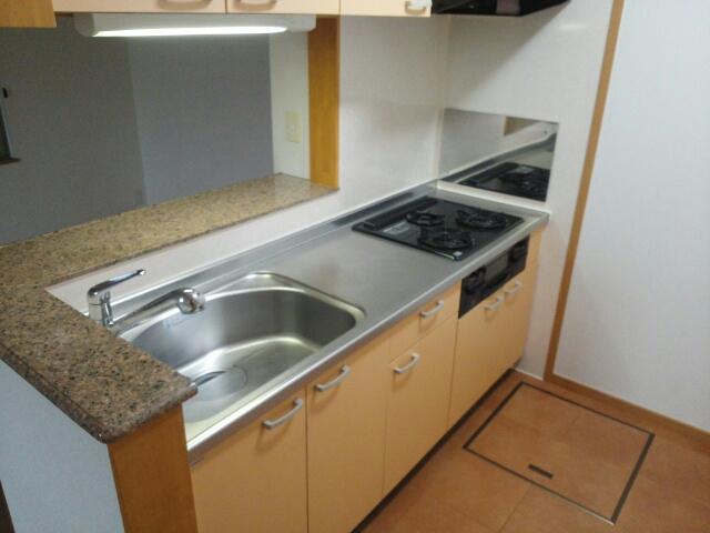 ラ・メール ドゥ 101号室のキッチン
