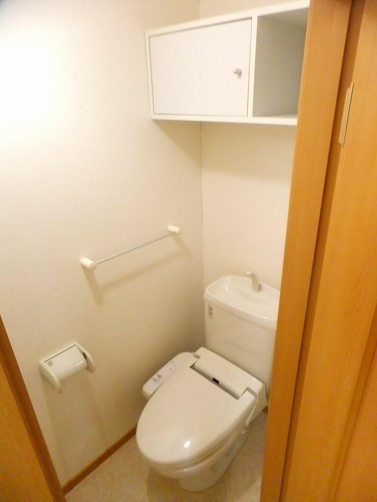 クロスロード153 202号室のトイレ