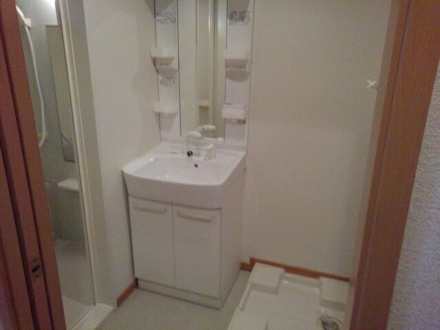 ヒラソル・ナツA 103号室の洗面所