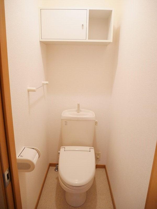 ラジェルⅡ 01010号室のトイレ