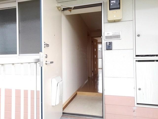 ゆ-とぴあ大橋 02010号室の玄関