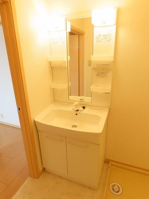 ゆ-とぴあ大橋 02010号室の洗面所