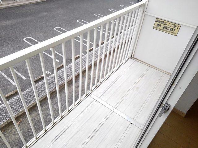 ゆ-とぴあ大橋 02010号室のバルコニー