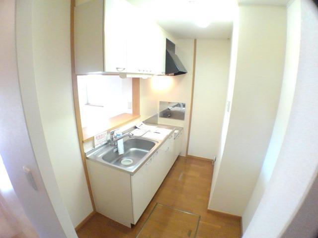 エンゼルパーク 弐番館 01010号室のキッチン