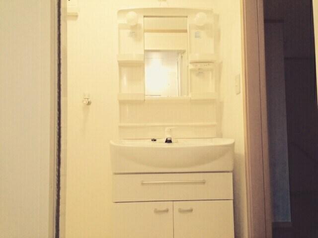 アヴニールⅤ 02010号室の洗面所
