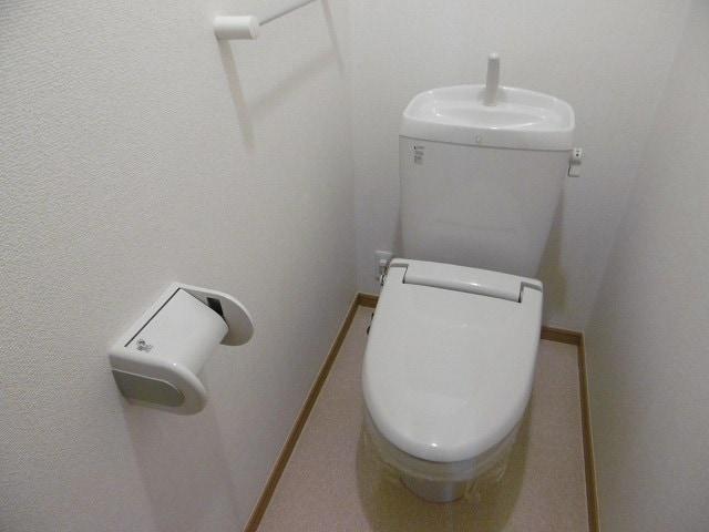 オーベルジーヌM 01020号室のトイレ