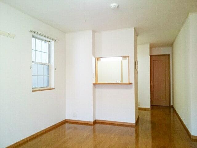 アンソレイエⅢ 101号室の玄関