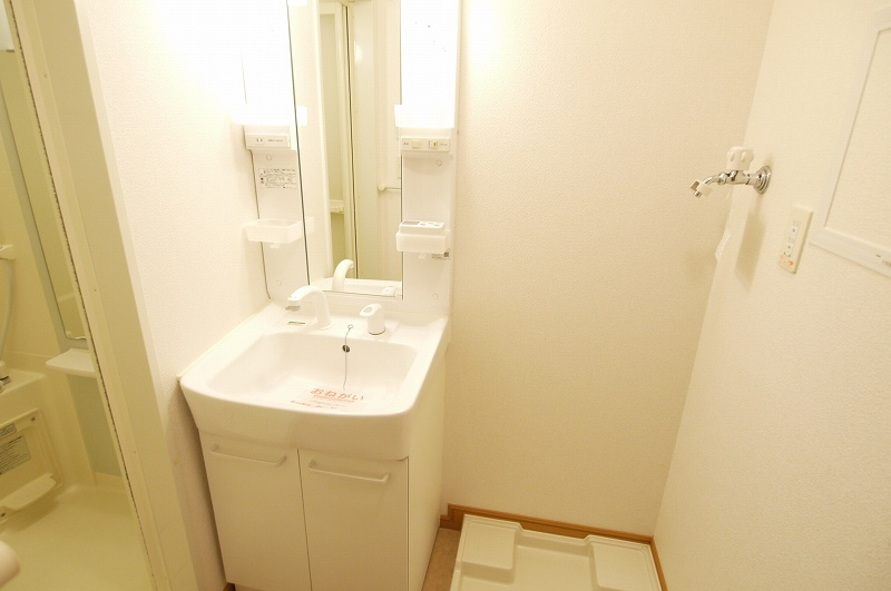 ウエスト下鴨 202号室の洗面所