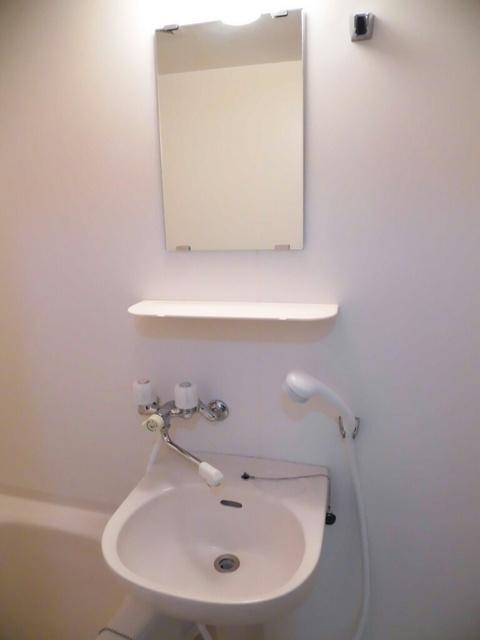 メゾンベルディ 02030号室の洗面所