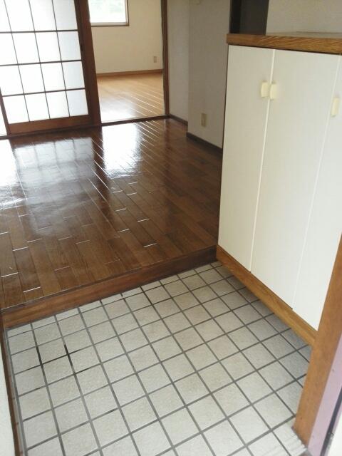 メゾンベルディ 02030号室の玄関