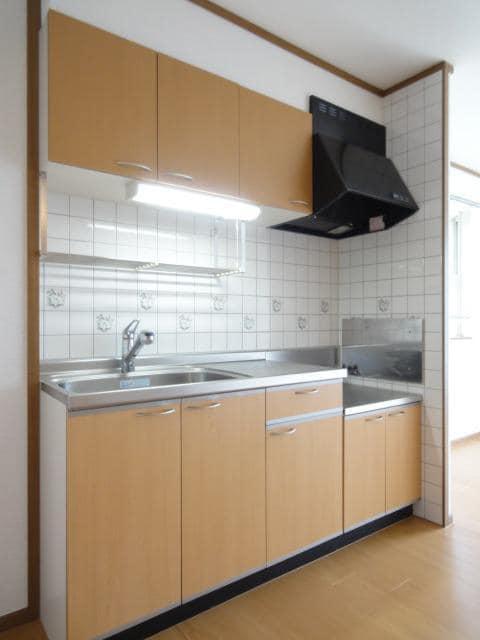 シャン・エトワール 02010号室のキッチン