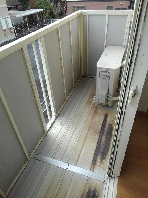 ラ・フォーレ三木A 02020号室のバルコニー