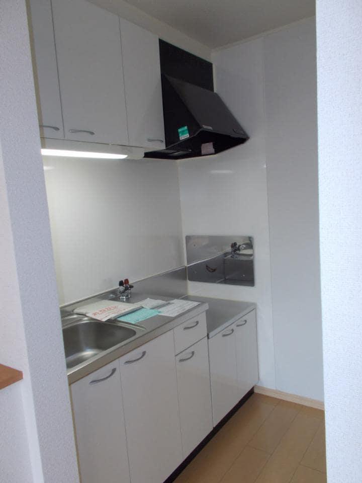 ラ フォンテ 201号室のキッチン