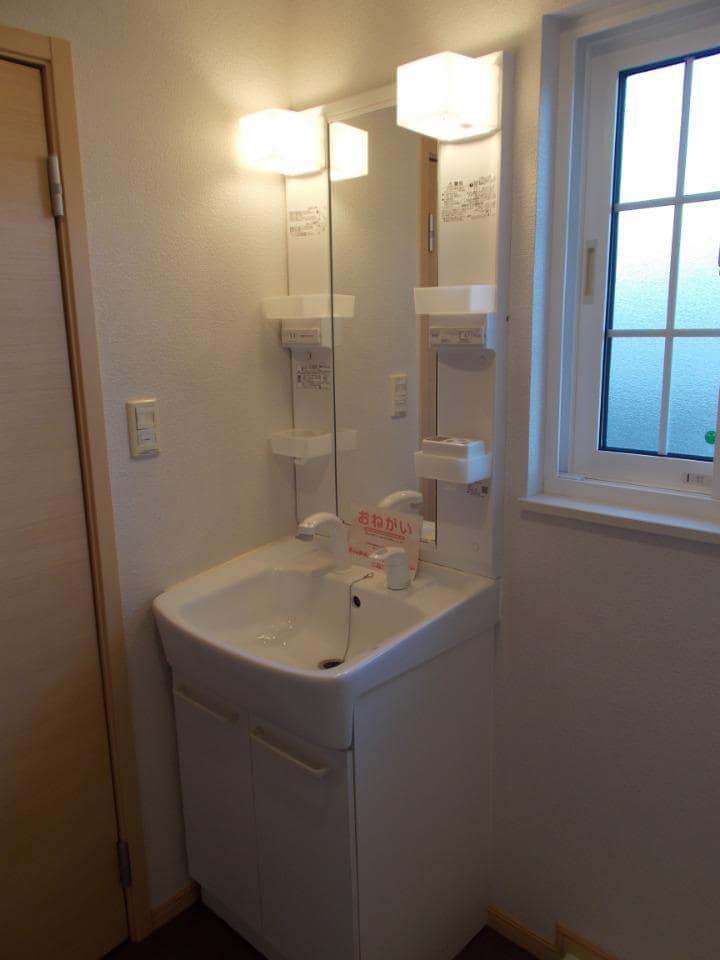 ラ フォンテ 201号室の洗面所