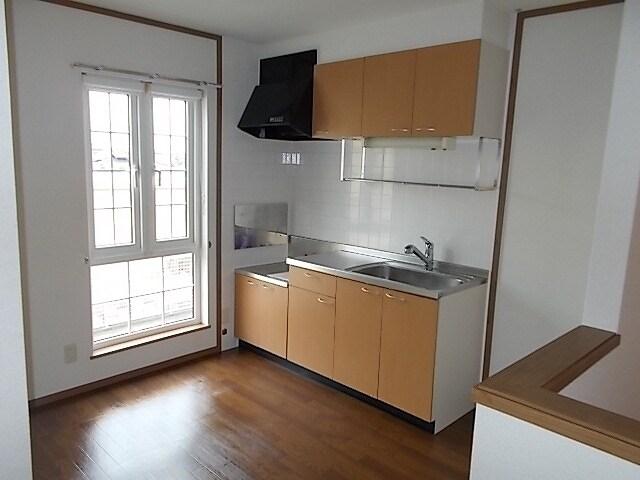 グレイスⅣ 203号室のキッチン