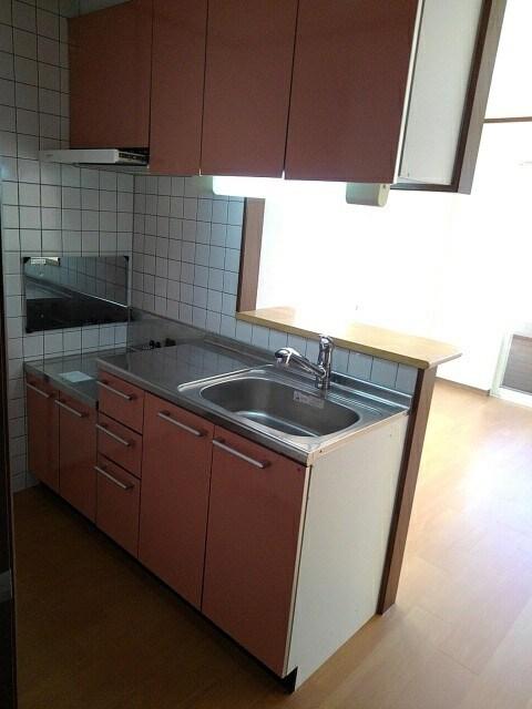 アルカンシエルⅢ 101号室のキッチン