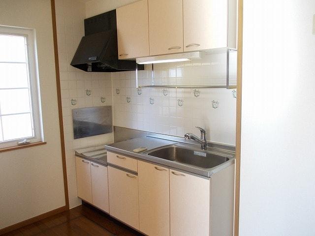 ピュアクエストC 01010号室のキッチン