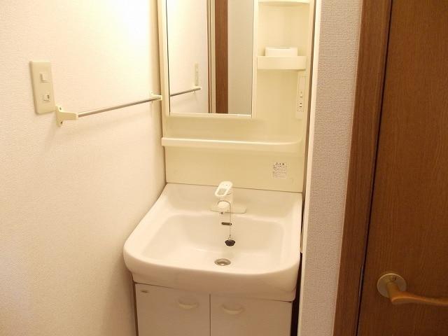 ピュアクエストC 01010号室の洗面所