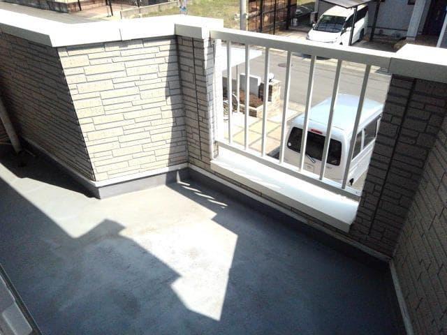 ガーデンロイヤル カトレア館 02020号室のバルコニー