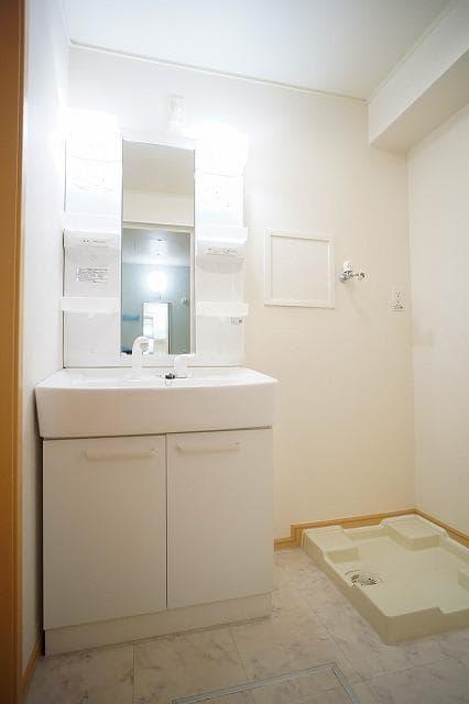 ラヴェンナ 02030号室の洗面所