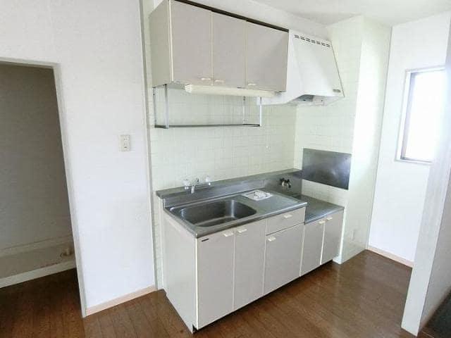 ドリーミー山中D 02010号室のキッチン