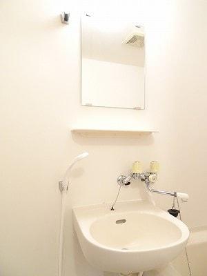 エルディム雪椿 01020号室の洗面所