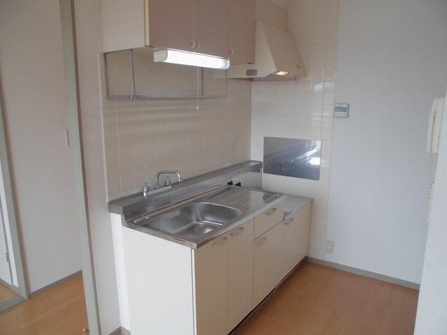 ヴィラ松前台B 02030号室のキッチン
