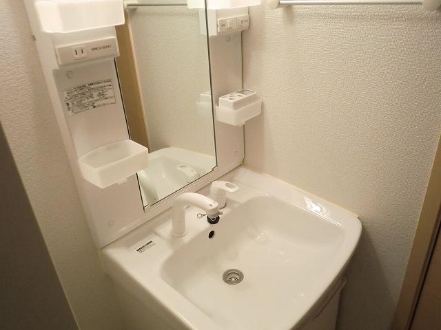 カレント・レジデンス 01040号室の洗面所