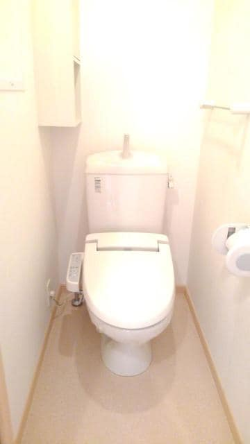 フラワーガーデン 02040号室のトイレ