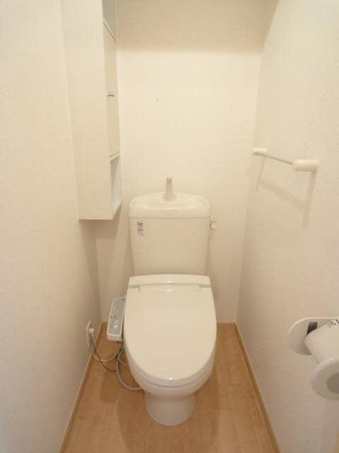 コンフォートテラス 02020号室のトイレ