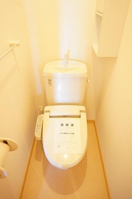 サンライズガーデンB 01020号室のトイレ