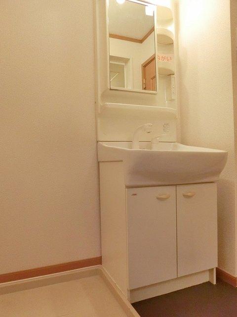 ツインコート B 01010号室の洗面所